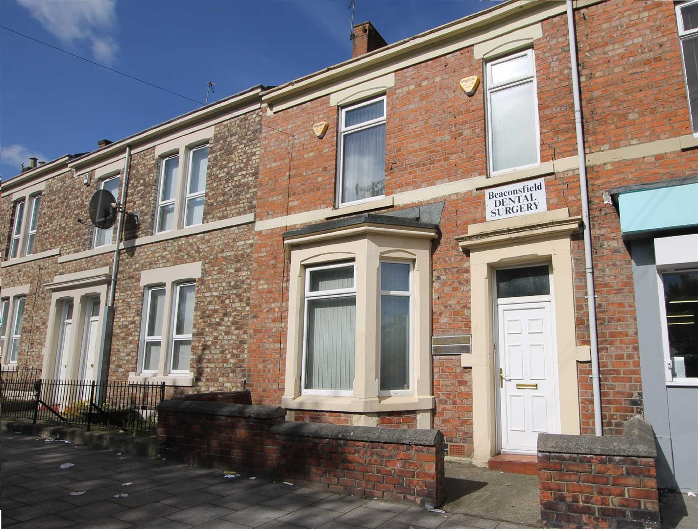 Beaconsfield Street Newcastle Upon Tyne, 2 Bedrooms  House - terraced ,2 Receptions ,For Sale